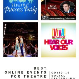 Best Online Events for Theatre, Broadway and More Fall 2020