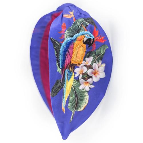 Namjosh Parrot Printed Headband