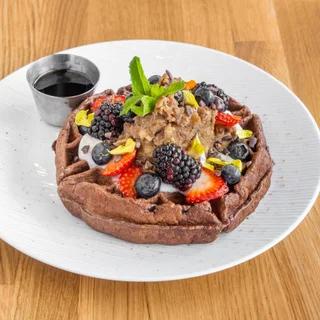Parakeet Cafe Cacao Waffle