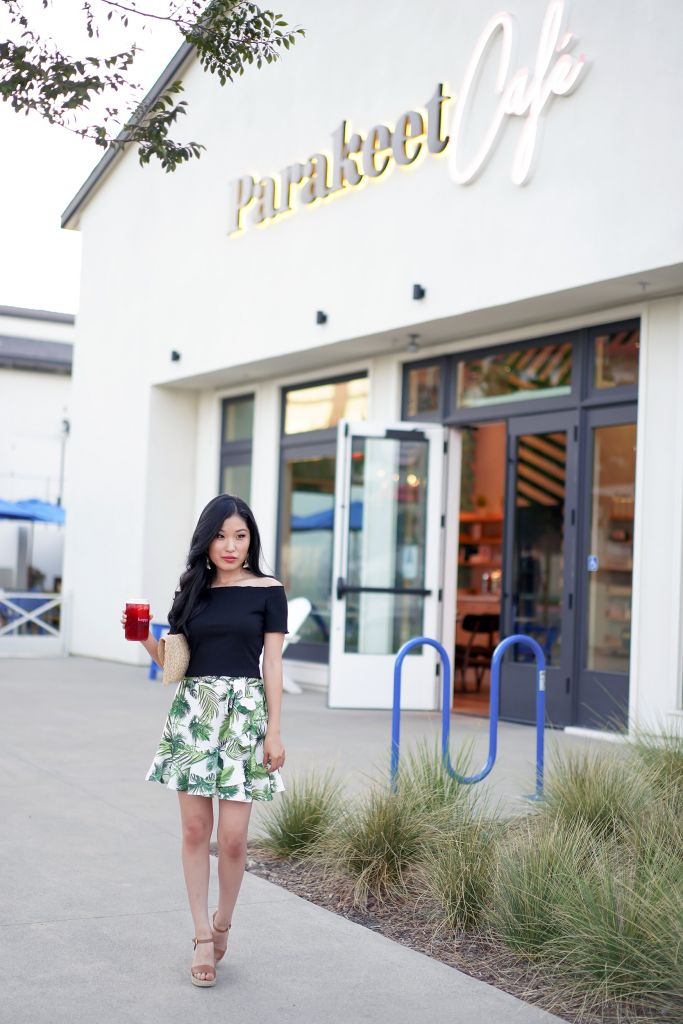 Parakeet Cafe Del Mar Location Outside, at One Paseo Shopping Center