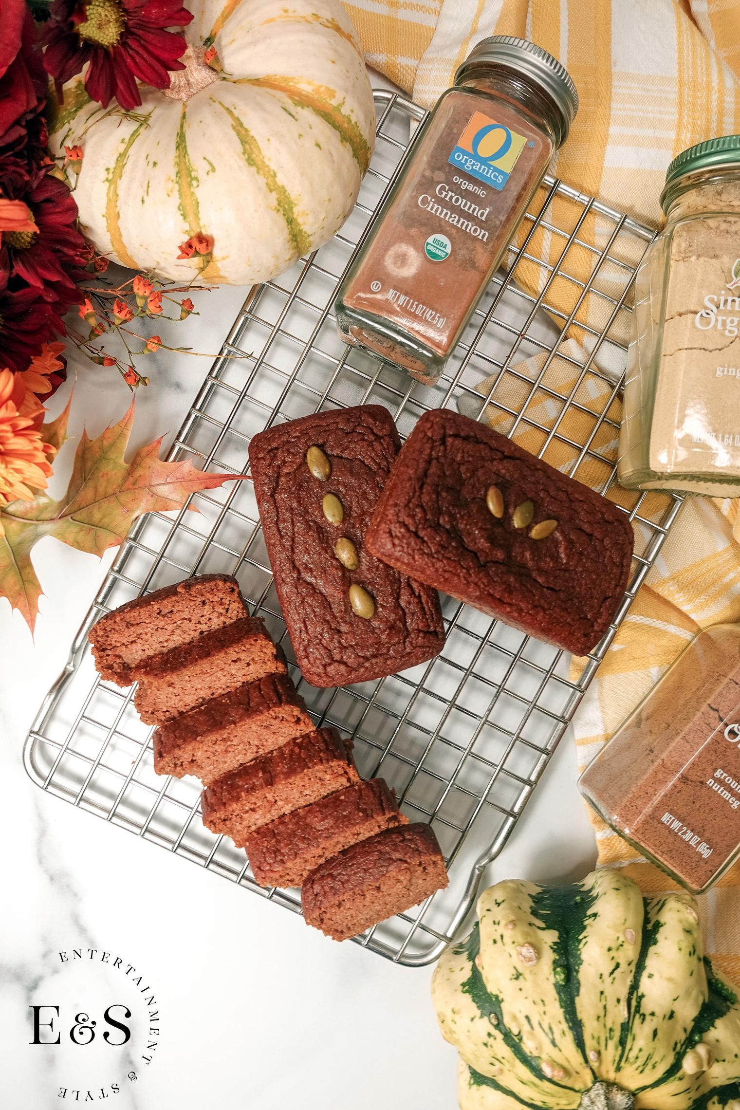 Pumpkin Bread Gluten Free Dairy Free Recipe from Sweet Laurel