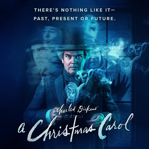 A Christmas Carol Live with Jefferson Mays Poster