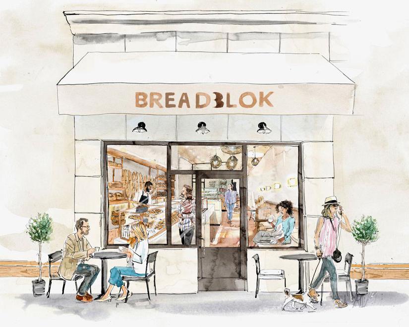 Breadblok Exterior Illustrarion